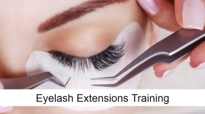 Eyelashes extension training