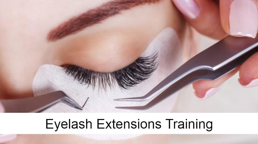 Eyelashes extension training